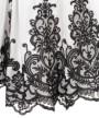 ワンピース:スカート部分(レース刺繍)